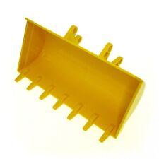 1x Lego Technic Bagger Schaufel gelb 8x14 7 Zähne Digger Bucket 8862 8853 2814