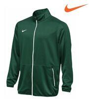 Nike Team Basketball Dri-Fit Rivalry Jacket Dark Green-White Mens 2XL 802332-341