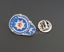 Policía turca emblema rozeti gómez prendedor selcuklu Türk polis pin silb.