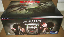 PS3 Injustice Gods Among Us Battle Edition Gamestop EXCLUSIVE New Sealed + DLC