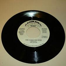 DEEP SOUL 45RPM RECORD - DEE ERVIN - ROXBURY 2033 - FORMER LEAD SGR - PASTELS-DJ