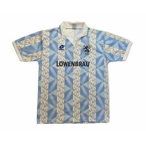 🔥1860 Munich 1992/94 Home Football Shirt Lotto Original 'Signed' - Large🔥
