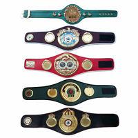 WBC WBO WBA IBF IBO Championships Boxing Belt Mini Belts Premium Quality