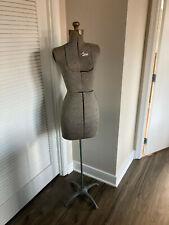 Vintage Acme Adjustable Dress Form Size A w/Stand
