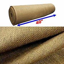 "5 Yards Upholstery Natural Jute Burlap,10 oz 40"" wide- Free Shipping"