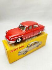Dinky toys atlas PL 17 Panhard rouge échelle 1/43 avec boîte