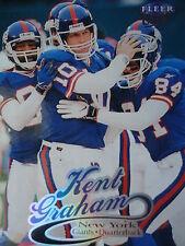 NFL 21 Kent Graham New York Giants Fleer Ultra 1999