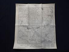 Mapa meßtischblatt 3344 Marwitz, bötzow, pausin, wansdorf, perwenitz, 1945