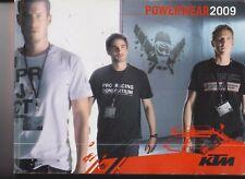 POWERWEAR 2009 - KTM - IN ITALIANO E FRANCESE