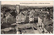 CPA 77 - LA FERTE SOUS JOUARRE (Seine et Marne) - La Place vue à vol d'oiseau