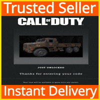 Call of Duty COD: Modern Warfare / Warzone / Iron Curtain Vehicle Skin DLC