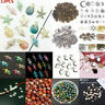 100Pcs Mixed Conch Shell Animal Flowers Beads DIY Charms Pendant Jewelry Making