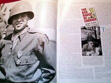 AUDIE MURPHY WWII MOVIE STARS JIMMY STEWART CLARK GABLE 2010 MAGAZINE BOB HOPE
