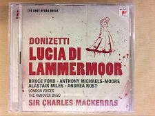 CD / LUCIA DI LAMMERMOOR / BRUCE FORD / CHARLES MACKERRAS / NEUF SOUS CELLO
