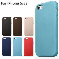 Original Genuine iPhone SE 5S leather case 6 colours