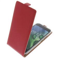 Tasche f. Acer Liquid Zest Plus FlipStyle Handytasche Schutz Hülle Flip Case Rot