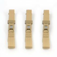 Chevy Chevelle 1964 - 1967 Standard 2pt Tan Lap Bench Seat Belt Kit - 3 Belts