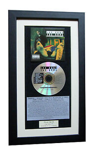ICE CUBE Death Certificate CLASSIC CD Album TOP QUALITY FRAMED+FAST GLOBAL SHIP