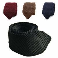 Fashion Men's Tie Knit Knitted Tie Necktie Narrow Slim Skinny Woven Men Gift Gif