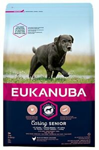 Eukanuba Senior Dog Food For Large Dogs Rich in Fresh Chicken For Optimal 3KG