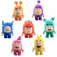 7PCS/Set Oddbods Plush Soft Cuddly Toy Newt Bubbles Pogo Zee Jeff Fuse Slick