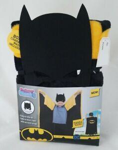 NEW Batman Super Blanky - All in One Cape & Throw - BONUS Batman Mask included!