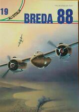 BREDA 88 -ALI D'ITALIA N.19-LA BANCARELLA AERONAUTICA EDITORE-TORINO