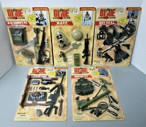GI Joe Navy Seal Recon Base Camp M-60 Gunner's Pit Mortar Pit M.O.P.P Sets MOC