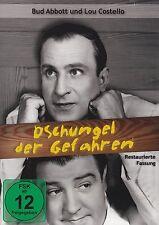 ABBOTT UND COSTELLO - DSCHUNGEL DER GEFAHREN restaurierte Fassung DVD Neu