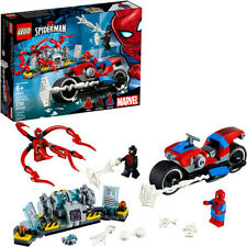 LEGO® Marvel Super Heroes - Spider-Man Bike Rescue 76113 [New Toy] Toy