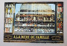 CP - 25 FOIS PARIS - A LA MERE DE FAMILLE - F X BOUCHART - YVON 43-157 *