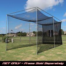 Golf Cage Practice Net 20' x 10' x 10' (#252 Poly) Net & Baffle (NO FRAME KIT)