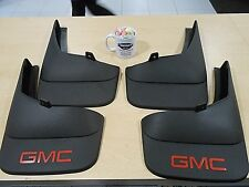 Mud Flaps Splash Guards - 07-14 GMC Sierra Set of 4 Front Rear 19212552 19212553