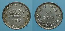 PORTOGALLO 50 REIS 1880 LUIZ I FDC 9