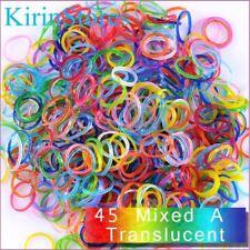 Rainbow Loom Bands Kits 600 PCs 24 Clip Refills Bands Refill