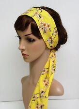 Hair scarf, hair tie, head scarf, women's bandanna, long headband, headscarf
