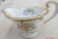 "Noritake ""ELTOVAR"" # 83377  Creamer only  Gold accents excellent condition!"