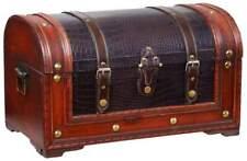 SCHATZKISTE SCHATZTRUHE KISTE TRUHE HOLZ KASTEN BOX !!! NEU !!! 45 x 26 x 26,5cm