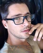 One Fashion Rectangular Small Full Rim Classic Nerd Women Men Eyeglasses Glasses