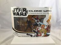 Star Wars Clone Wars Commemorative DVD Collection Jedi Force Pack 2005 NIB