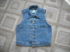 Button Denim Petite Waistcoats for Women