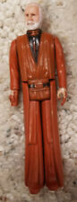 Vintage 1977 Kenner Star Wars ObiWan Kenobi Figure White hair no cape/lightsaber