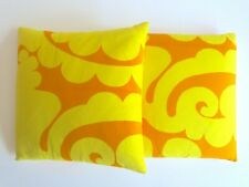 MARIMEKKO RARE ORIG VTG 1960'S MID CENTURY SCANDINAVIAN MODERN THROW PILLOWS