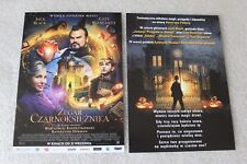 The House with a Clock in Its Walls  (2018)  - Polish promo FLYER - ULOTKA