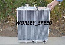 Aluminum Radiator For Honda Civic EK EG D15 D16 1992-2000  52MM 3Row 28MM Pipe