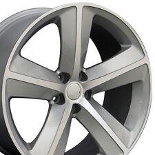 """20"""" Wheels For Dodge Charger SRT8 Magnum Challenger Chrysler Silver (Rims Set 4)"""