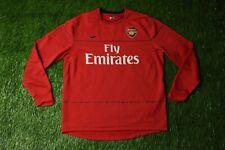 ARSENAL LONDON 2008-2009 FOOTBALL SWEATSHIRT SWEAT TRAINING NIKE ORIGINAL SIZE L