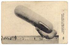aerostiers en campagne  préparatifs de départ le ballon allongé