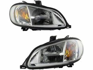 Headlight Assembly Set For 2004-2012 Freightliner Business Class M2 2005 T843CG