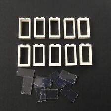 LEGO® Fenster 1x4x3 30718 6177280 transparent mit Aufruck Dentist Zahnarzt NEU